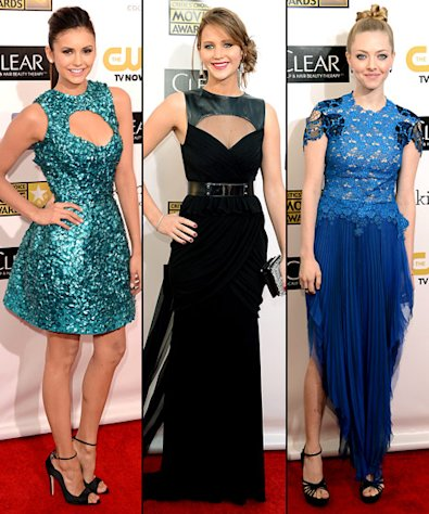 Critics' Choice Movie Awards 2013: What the Stars Wore!