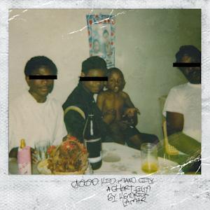 "This CD cover image released by Interscope Records shows ""Good Kid m.A.A.d. city,"" the latest album by Kendrick Lamar. (AP Photo/Interscope Records)"