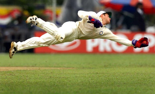 South African wicketkeeper Mark Boucher dives full [Mark Boucher's retirement]