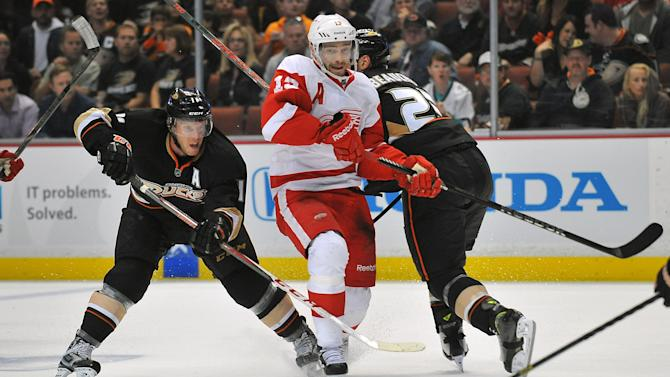 NHL: Stanley Cup Playoffs-Detroit Red Wings at Anaheim Ducks