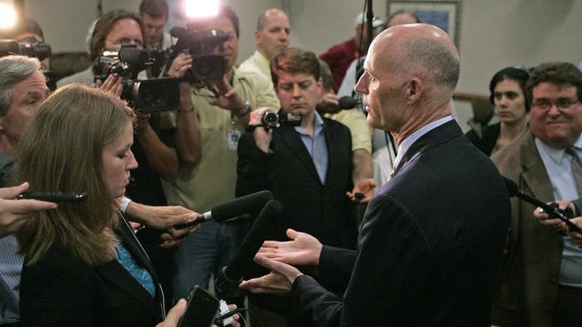 Florida's Rick Scott Couldn't Find Any Seniors Who Hate Obamacare's Medicare Cuts