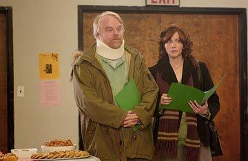 Philip Seymour Hoffman and Laura Linney in Fox Searchlight's The Savages