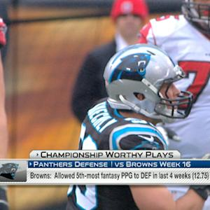'NFL Fantasy Live': Championship plays