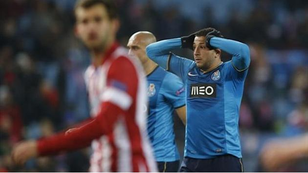 Champions League - Porto out after defeat at group winners Atletico