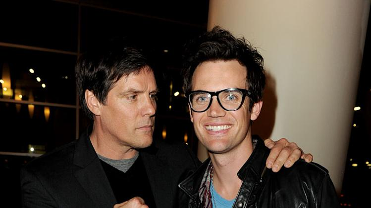 "Paul Johansson and Tyler Hilton at The CW's presentation of ""An Evening with One Tree Hill"" at the Arclight Theater on January 5, 2011 in Los Angeles, California."