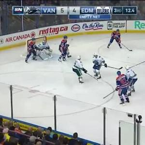 Canucks at Oilers / Game Highlights