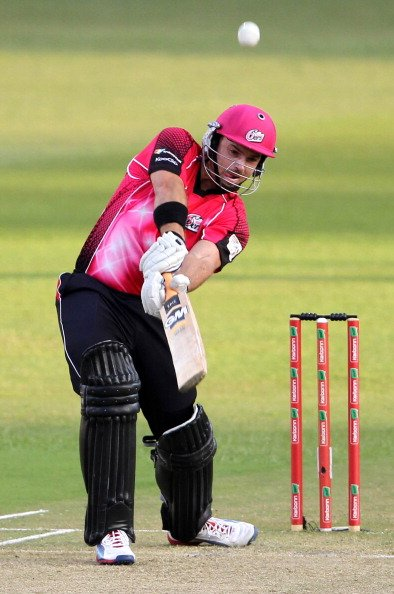 CLT20 2012 Match 18 - Sydney Sixers v Mumbai Indians