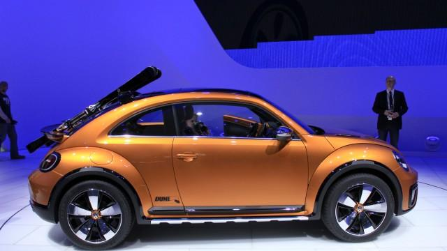 VW Beetle Dune Concept: A Bug For The Desert Rat In You