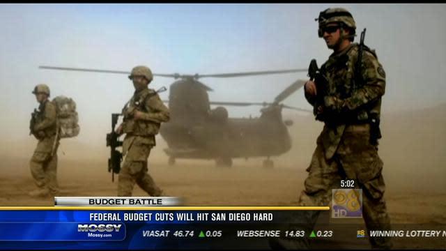 Federal budget cuts will hit San Diego hard
