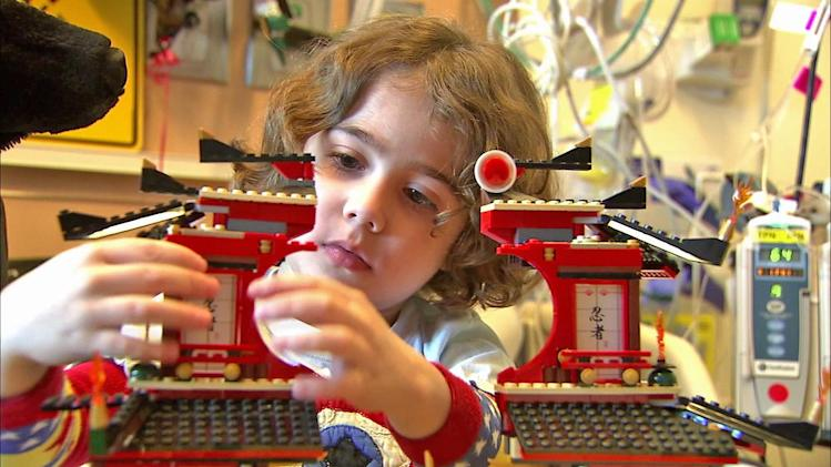 Young Children's Hospital Los Angeles patient is Lego-building whiz