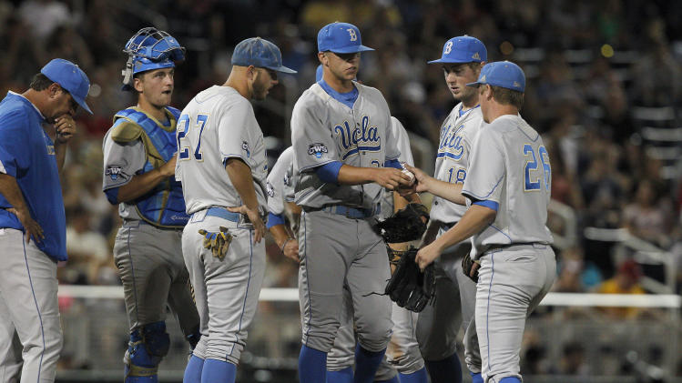NCAA Baseball: College World Series-North Carolina State vs UCLA