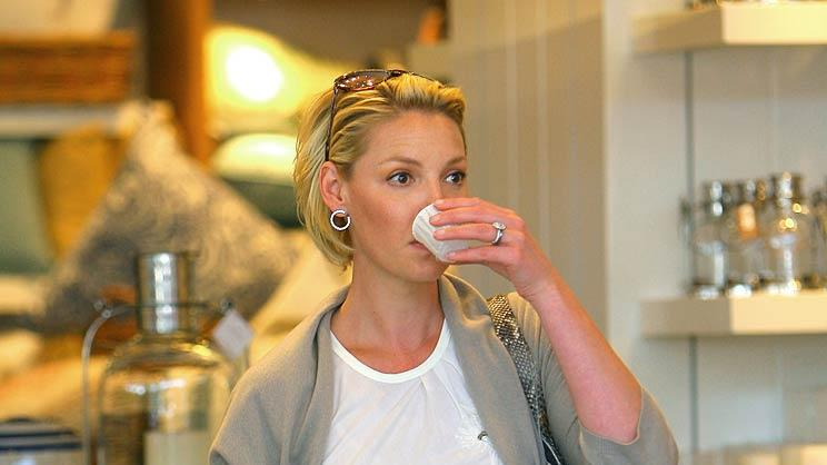 Katherine Heigl Lunch