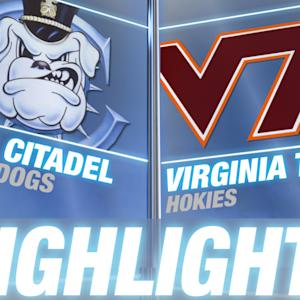 The Citadel vs Virginia Tech | 2014-15 ACC Men's Basketball Highlights