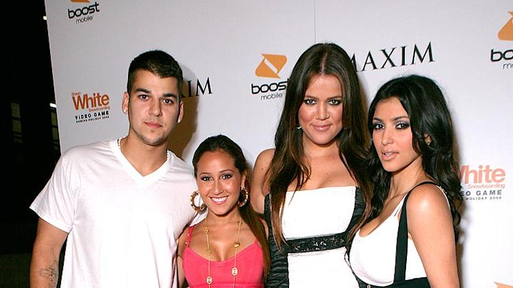 Bailon Kardashian R K K Maxim Party