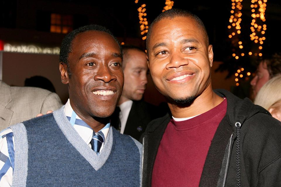 Don Cheadle 2007 Cuba Gooding Jr.