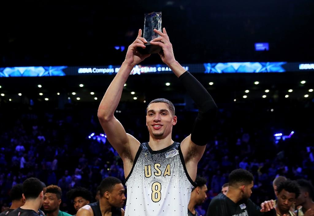 LaVine shines as US beat World in NBA Rising Stars Challenge
