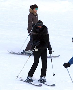 Kim Kardashian Remembers 'Fun Ski Trip' With Kourtney And Scott Disick