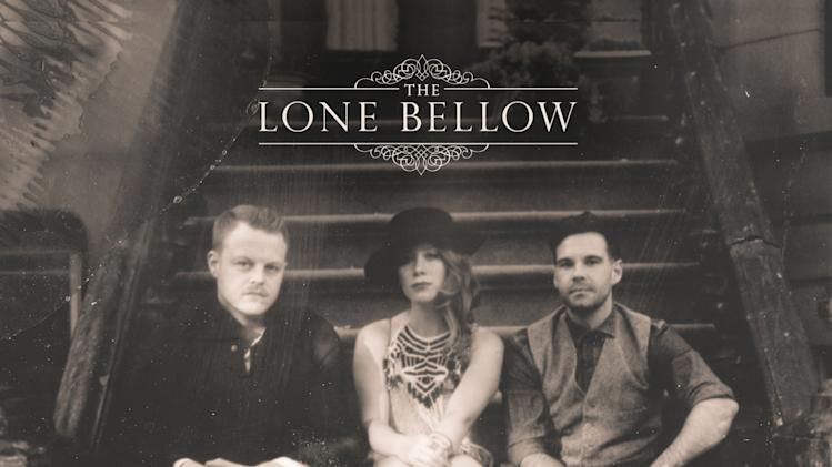 This CD cover image released by Descendant Records shows the self-titled album for The Lone Bellow. (AP Photo/Descendant Records)