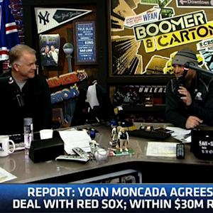 Boomer & Carton: Moncada reportedly agrees to deal with Red Sox