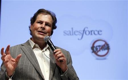 Marc Benioff, Salesforce.com's …