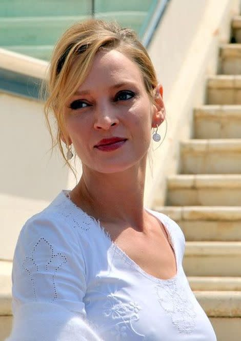 Actress Uma Thurman is pregnant!
