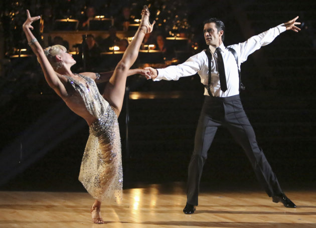 Peta Murgatroyd and Gilles Marini (10/22/12)