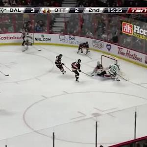 Robin Lehner Save on Jason Spezza (04:29/2nd)