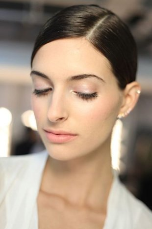 makeup at Alice + Olivia; courtesy of Stila