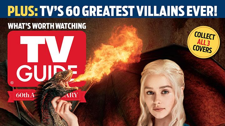 """Game of Thrones"" in TV Guide Magazine"