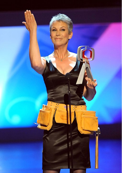 Jamie Lee Curtis onstage during the 7th Annual TV Land Awards held at the Gibson Amphitheatre on April 19, 2009 in Universal City, California.