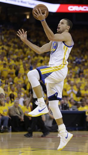 Curry leads Warriors past Denver 115-101 in Game 4