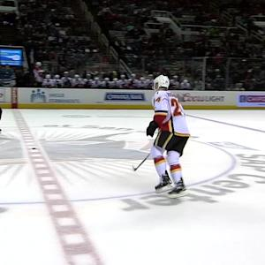Hudler clinches win in shootout