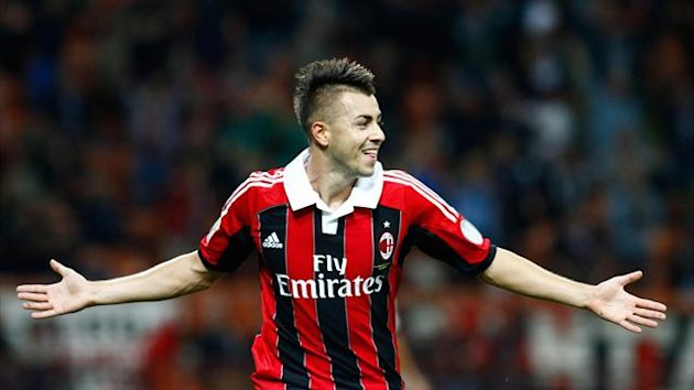 2012-13 Serie A, Milan, Stephan El Shaarawy (Ap/LaPresse)