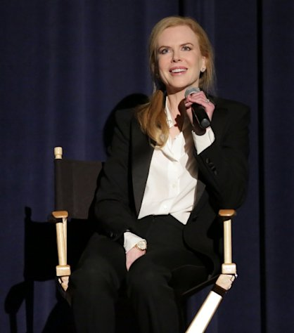 Nicole Kidman attends &#39;The Paperboy&#39; Q&A with Nicole Kidman at Harmony Gold Theatre, Los Angeles, on November 24, 2012 -- Getty Images
