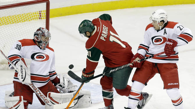 Canes place G Ward on IR with lower-body injury
