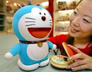 Doraemon, Japan's robot cat from the future, will celebrate turning minus 100 years old by being given official residence of the city where he will be born, a city official told AFP on Friday