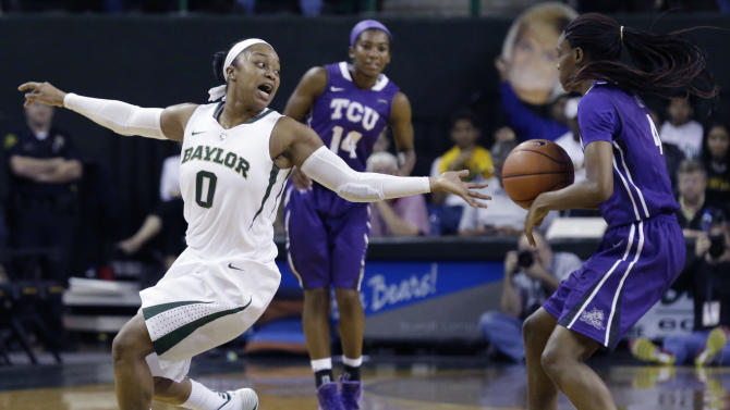 Sims 28 points, No. 7 Baylor women 80-46 over TCU