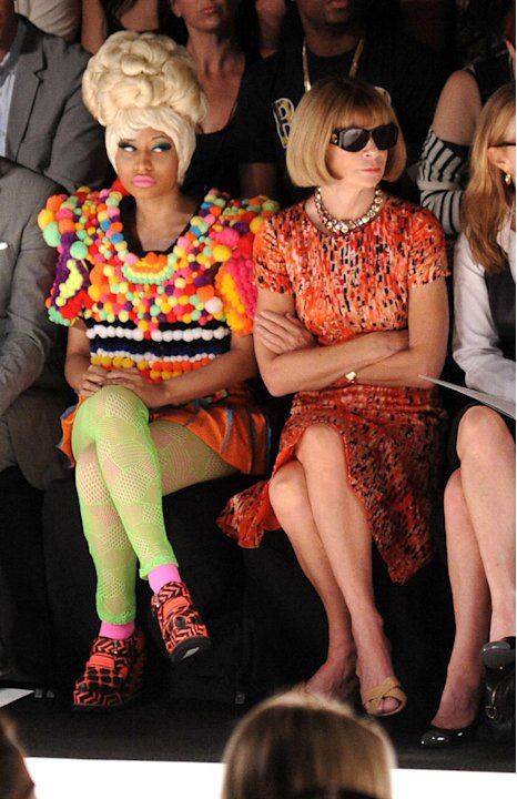 Minaj Wintour Fashion Week