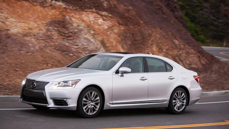 Pampering Lexus LS is fuss-free sedan