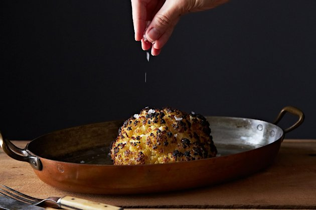 Whole Roasted Cauliflower on Food52