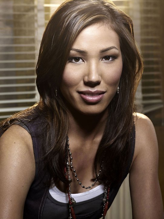 Michaela Conlin stars as Angela Montenegro in Bones.
