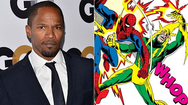 ET Confirms Jamie Foxx in 'Spider-Man' Sequel
