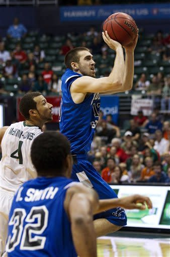 Odum, Indiana State beat Miami 57-55 in OT