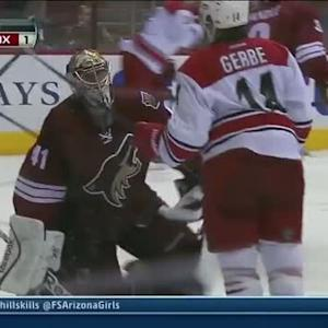 Mike Smith comes up with two clutch saves