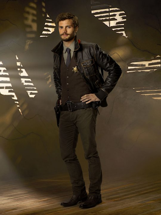"Jamie Dornan stars as Sheriff Graham in ""Once Upon a Time."""