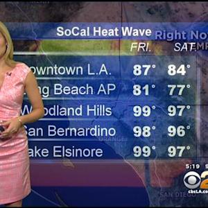 Jackie Johnson's Weather Forecast (July 24)