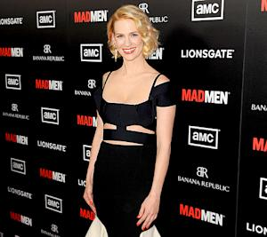"January Jones: Being a Single Working Mom Is ""Difficult"""