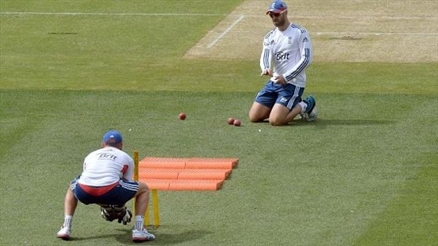 Jonny Bairstow, left, has been selected as England's wicketkeeper-batsman for the fourth Test