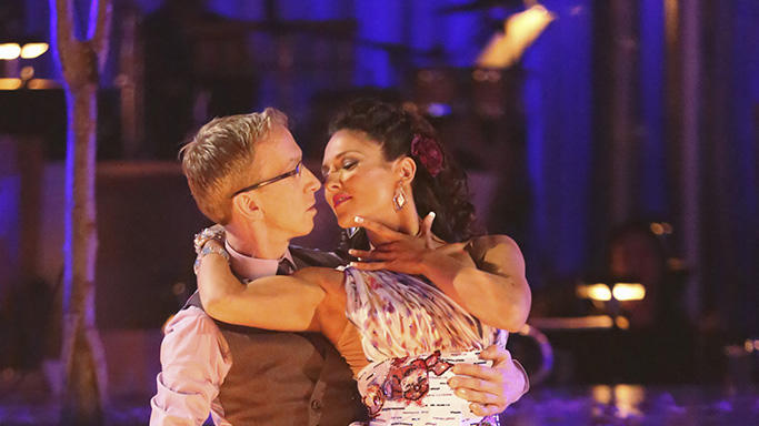 Andy Dick and Sharna Burgess (4/8/13)