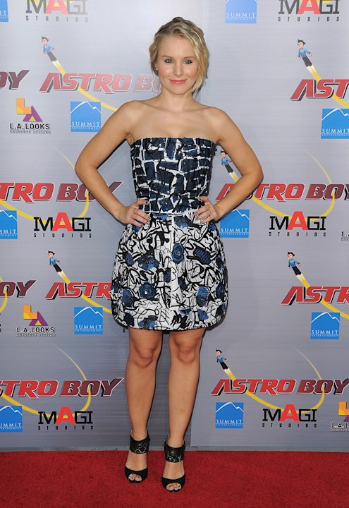 Astro Boy LA Premiere 2009 Kristen Bell